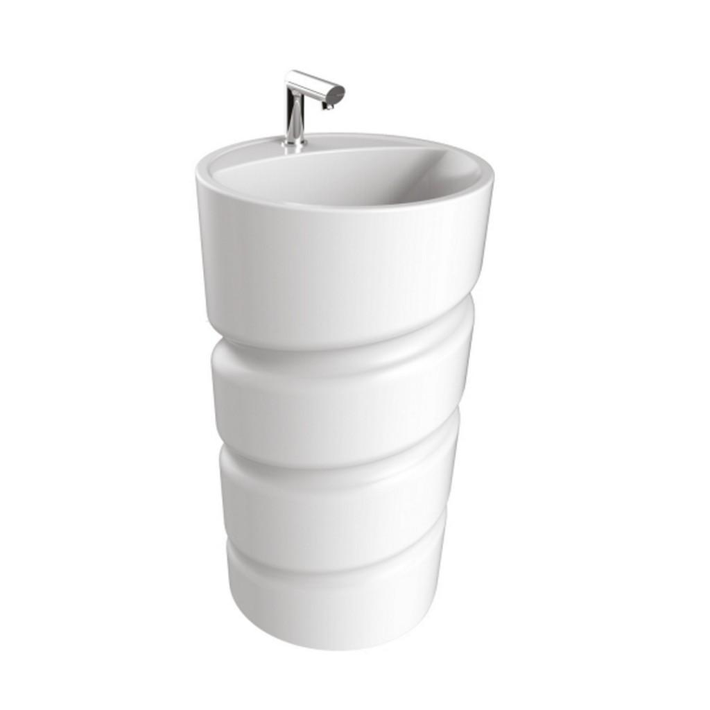 Creavit Spiral Monoblok Washbasin CL084