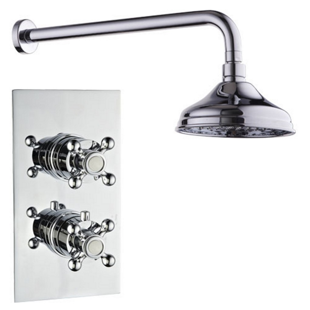 Mayfair Oxford Dual Handle Concealed Thermostatic...